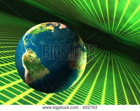 Earth In Cyberspace