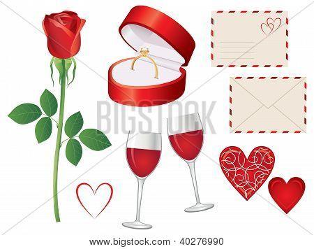 Valentine Day Icon Set