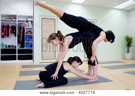Group Yoga