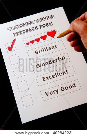 Customer Service Feedback Document-fun
