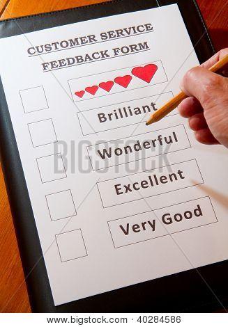 Customer Service Feedback Document