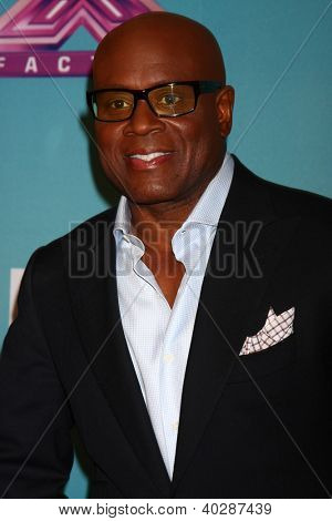 LOS ANGELES - DEC 19:  L.A. Reid at the 'X Factor' Season Finale performances  show taping at CBS Television City on December 19, 2012 in Los Angeles, CA