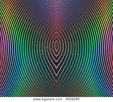 High Resolution Multicolored Circular Illustration