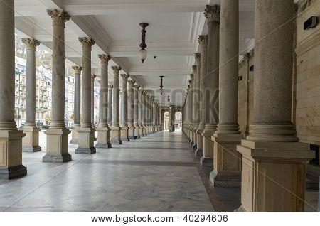 Columnata del molino, karlovy Vary