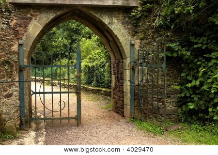 Old Medieval Gate