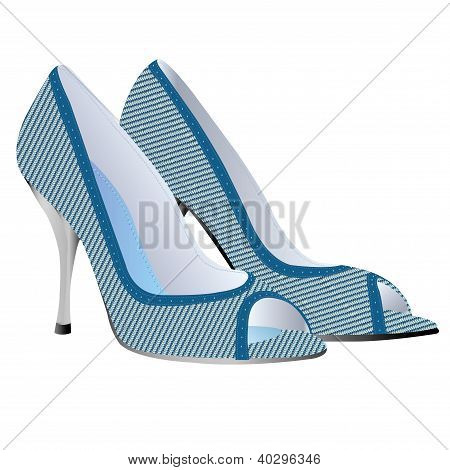 High Heel Shoes Vector.eps
