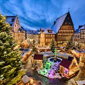 Christmas Market in Hildesheim, Germany