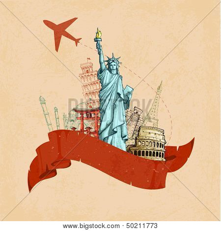 Retro Travel Poster