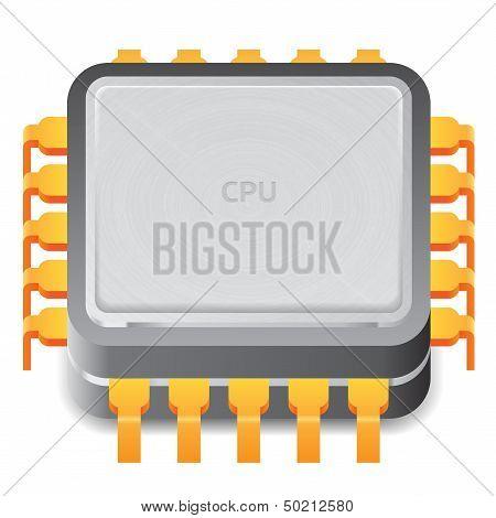 Icon For Microprocessor