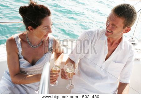Couple On Cruise