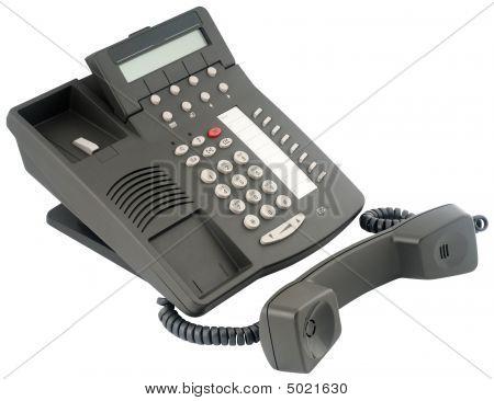 Digital Telephone Set, 8 Soft Keys, Off-hook