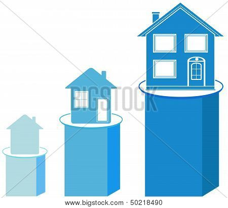 house on shedule, construction symbol