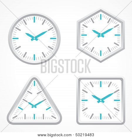 clock with different shape