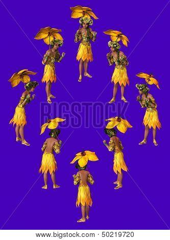 Yellow Parasol