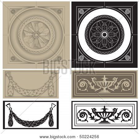 decorative pane set
