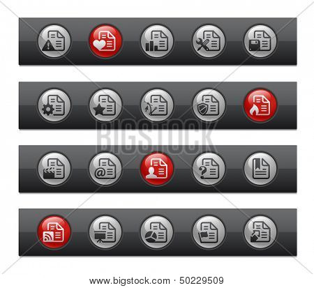 Documents - Set 2 of 2 // Button Bar Series