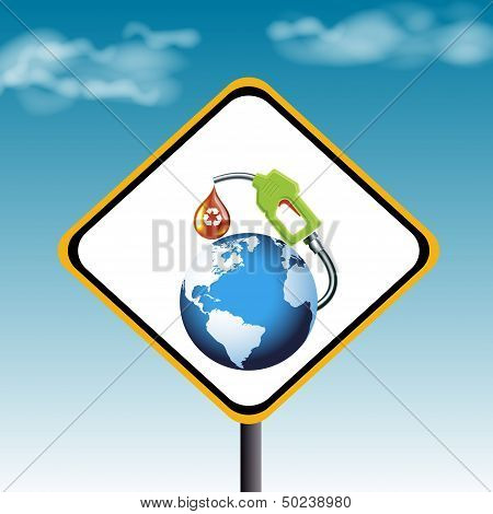 Oil Sign