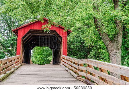 Burr Arch Covered Bridge