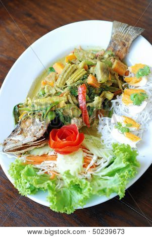 Crispy Fish Curry