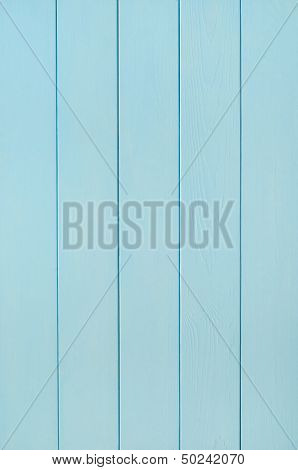 Pale Blue Wood Plank Background