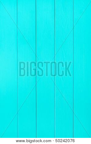 Turquoise Wood Plank Background Texture