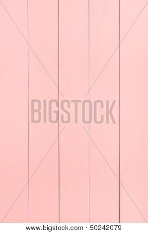 Pink Wood Plank Background Texture