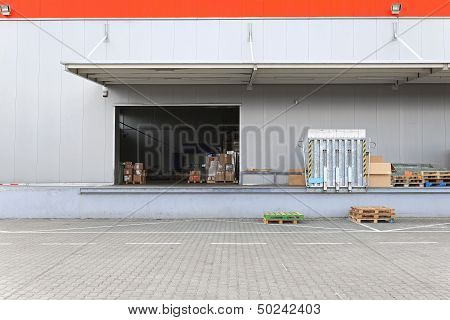 Loading Dock Warehouse