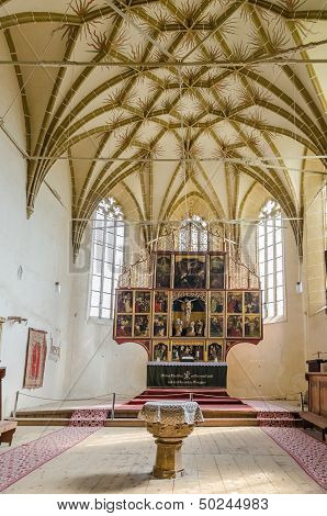 Biertan Fortified Church Interior
