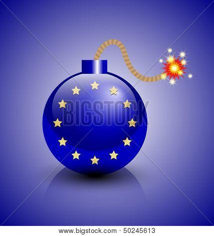 European Crisis Icon