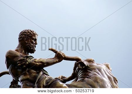 Hercules sculpture