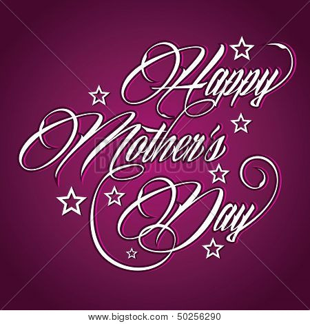 Creative Happy Mother's Day greeting