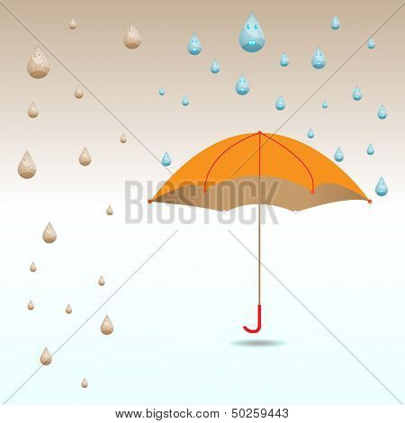 Umbrella Protect From Dirty And Clean Rain Drops