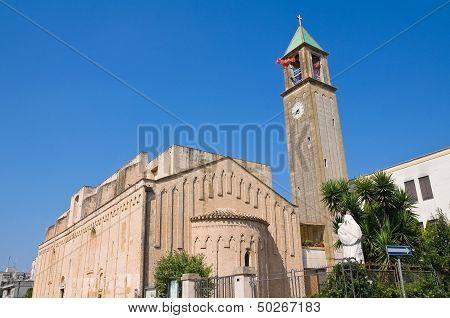 Basilica Church of Carmine. Mesagne. Puglia. Italy.