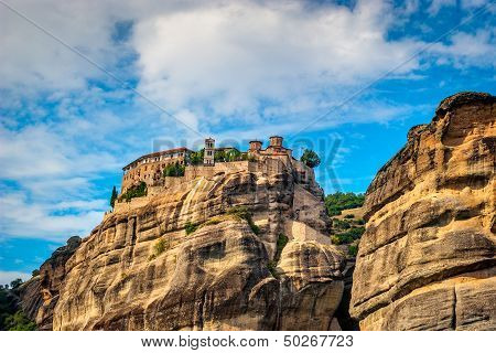 Grand Meteora Monastery, founded in the 1300's AD