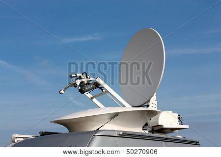Parabolic Antenna Satellite Communications