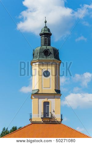 Tower of the Town Hall in Bialystok