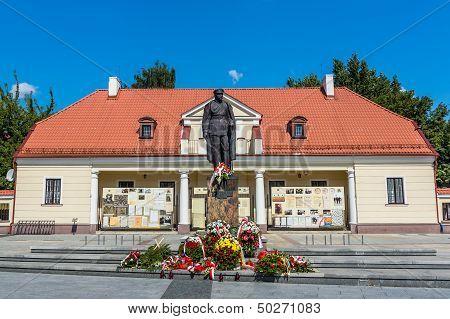 Monument to Marshal Jozef Pilsudski
