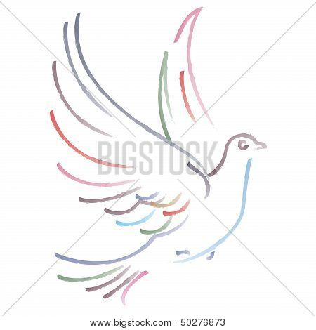 Vector Dove