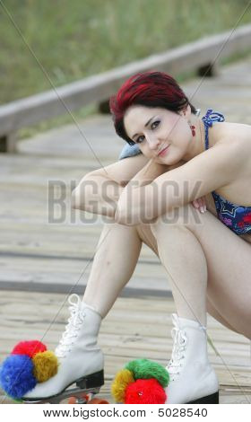 Red Haired Skater