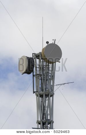 Communication Tower - Closeup
