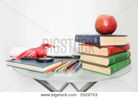 School And Education Theme