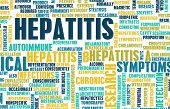 picture of medical condition  - Hepatitis Medical Concept as an Infection Art - JPG