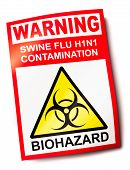 Swine Flu Warning Sign