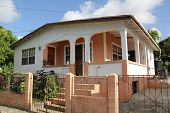 pic of west indies  - Typical home in Antigua Barbuda Lesser Antilles - JPG