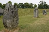 Megalithic Stone Circle. Avebury. UK