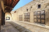 image of paving  - A view of the old pedestrian souk in Byblos Lebanon during the day - JPG