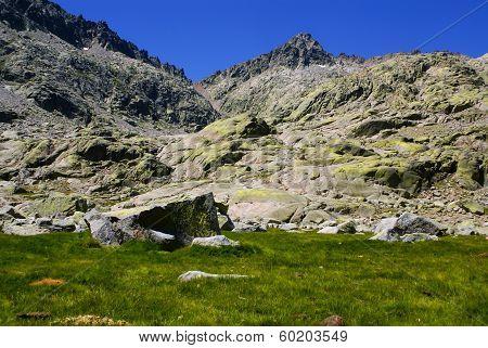 Gredos Mountains In Avila Spain