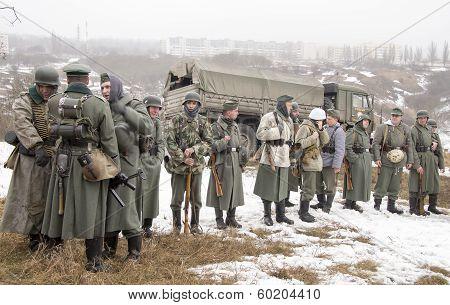 Rank German Fascist Soldiers