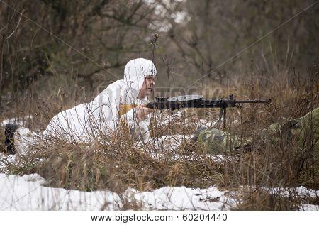 Russian Spy In Ambush