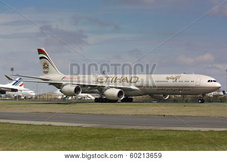 A340 Etihad Airways